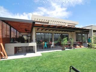 Terraza abierta Balcones y terrazas modernos de Selica Moderno