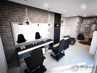 Barbearia: Spas  por Andreia Louraço - Designer de Interiores (Contacto: atelier.andreialouraco@gmail.com)