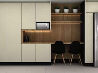 Kitchen units by Renata Pargendler Raichel, Modern