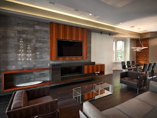 KUBE architecture Modern living room