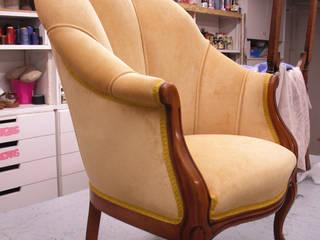 sillón clásico de tapiceria chiqui Clásico