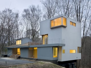 KUBE architecture Modern houses