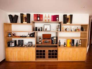 AMR estudio Living roomCupboards & sideboards