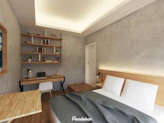 1st Bedroom:  Kamar Tidur by Mendekor