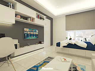 Edison House Kamar Tidur Modern Oleh Mendekor Modern
