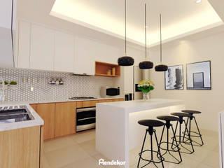 Edison House Dapur Modern Oleh Mendekor Modern