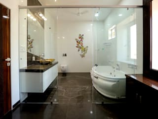 Bathroom:  Bathroom by ZEAL Arch Designs