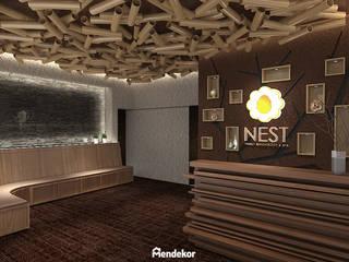 NEST Reflexology & Spa Ruang Komersial Modern Oleh Mendekor Modern