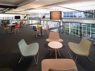 """FERNSEHSTUDIO UPC """"MYSPORTS"""",Erlenbach ZH:  Bürogebäude von Fröhlich Architektur AG,Industrial"""