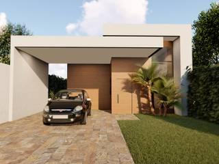 Projeto de Arquitetura em Vicente Pires - DF. por Rudini Rodarte Arquitetura e Construção Moderno