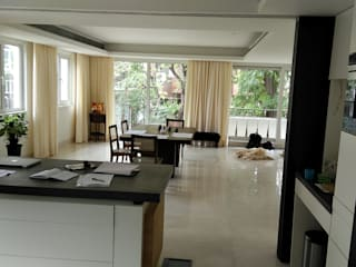 Vijay Kochhar Residence Modern dining room by Sion Projects Modern