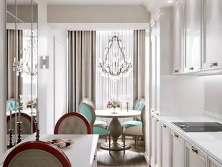 Cocinas de estilo clásico de Лена Инашвили Art at Home Clásico