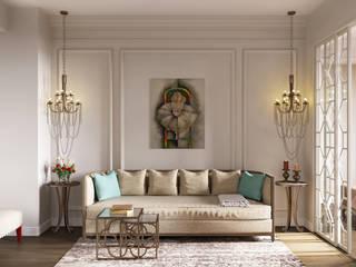 Livings de estilo clásico de Лена Инашвили Art at Home Clásico