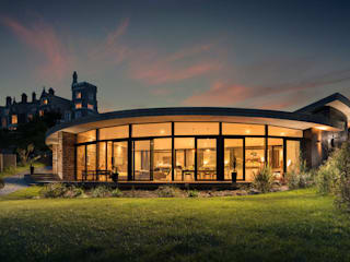 New Build, Portwrinkle, Cornwall Modern houses by Arco2 Architecture Ltd Modern