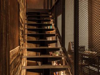 G space 髮廊商業空間設計:  商業空間 by 漢玥室內設計