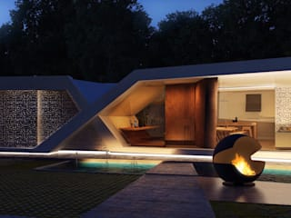 Casa X, Santina Norte. Córdoba: Casas de estilo  por síncresis arquitectos