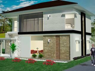 Rumah Tinggal 2 Lantai - joglo: Rumah oleh Adhicitta Karya Megah, Modern