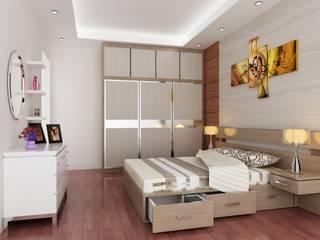 Rumah Tinggal 2 Lantai - joglo:modern  oleh Adhicitta Karya Megah, Modern