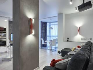 Minimalist living room by Вира-АртСтрой Minimalist