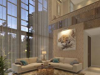Modern Living Room by PT. Dekorasi Hunian Indonesia (DHI) Modern
