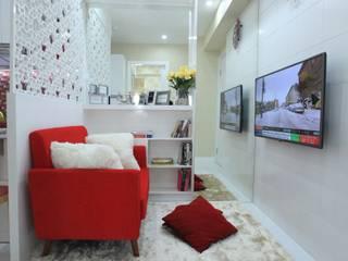 COZY PLACE FOR WEEKEND GETAWAY @ GREEN PRAMUKA APARTMENT, EAST JAKARTA Modern Living Room by PT. Dekorasi Hunian Indonesia (DHI) Modern