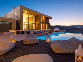 Cubus Holzhaus Villa 300 Alicante/Spain:  Holzhaus von Finnscania Blockhausfabrik