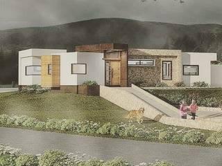 Proceso diseño y construcción Vivienda Premium 115m2 Fundo Loreto Territorio Arquitectura y Construccion - La Serena Acabado en madera