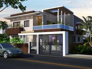 Arvind residence by S. KALA ARCHITECTS Modern