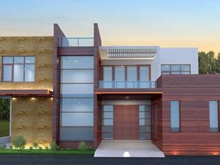 Bhupendra residence by S. KALA ARCHITECTS Modern