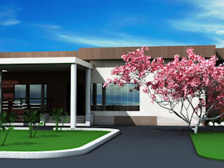 Mittal residence by S. KALA ARCHITECTS Modern