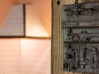 Cascina I Ronchi Andrea Chiesa è Progetto Immagine Porte in legno Ferro / Acciaio