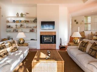 Country style living room by Zenaida Lima Fotografia Country