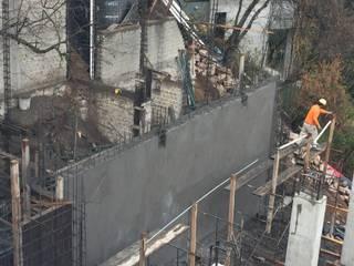 Muros de contención :  de estilo  por Estrucval