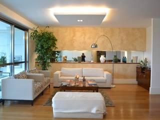 Modern Oturma Odası Priscila Kunenn Arquitectura de Interiores Modern