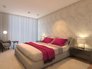 CASA MARQUES INTERIORES BedroomBeds & headboards