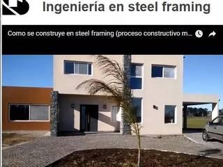 Proyecto ecosustentable llave en mano: Casas de estilo  por M&A Ingenieria ecosustentable