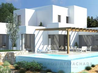 Vivienda Unifamiliar AC | Palma de Mallorca de L5F Arquitectura e Ingeniería | La Quinta Fachada Moderno