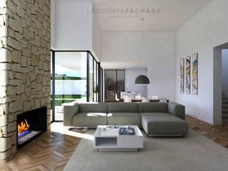 Vivienda Unifamiliar L&M | Olleria Comedores de estilo moderno de L5F Arquitectura e Ingeniería | La Quinta Fachada Moderno