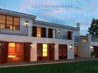 Vivienda Unifamiliar R&G | Benissa de L5F Arquitectura e Ingeniería | La Quinta Fachada Mediterráneo