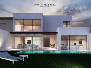 Fachada_01: Casas unifamilares de estilo  de L5F Arquitectura e Ingeniería | La Quinta Fachada