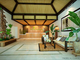Tropical Garden:   by NQ décor