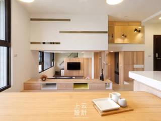 Modern dining room by 上云空間設計 Modern