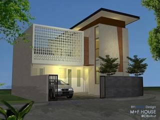 Ekterior Roster:  Rumah tinggal  by Alfaiz Design