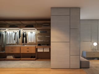 CASA MARQUES INTERIORES BedroomWardrobes & closets