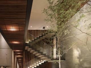 HNN HOUSE od Hernandez Silva Arquitectos Nowoczesny