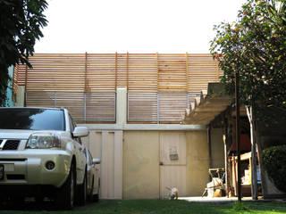 Intervención Fachada Casas minimalistas de Van Herck-Arquitectos Minimalista
