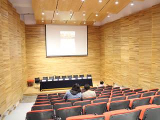 Nuevo Auditorio-MUCA-UNAM Salas multimedia modernas de Van Herck-Arquitectos Moderno