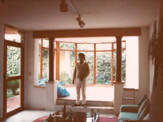 Ampliación Casa Gutiérrez: Salas de estilo  por Van Herck-Arquitectos