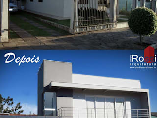 Residência A + F por Studio Rossi Arquitetura Moderno