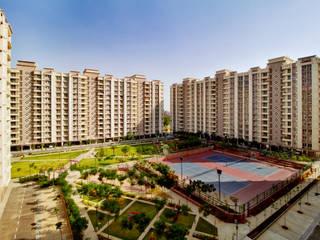 Ashiana Vrinda Gardens, Jaipur Modern garden by NMP Design Modern